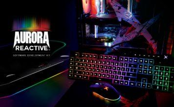 Creative predstavuje Aurora Reactive SDK pre sériu Sound BlasterX