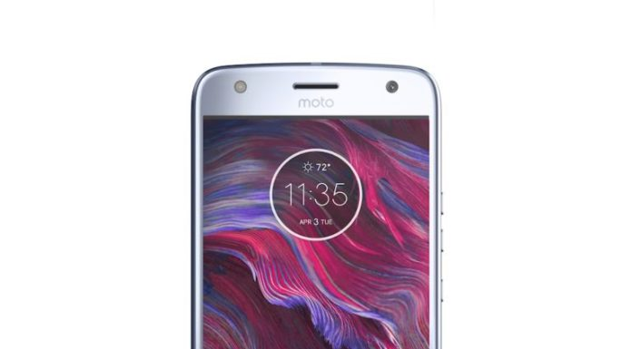 displej smartfonu motoX4