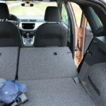 sklopene sedadla vo vozidle