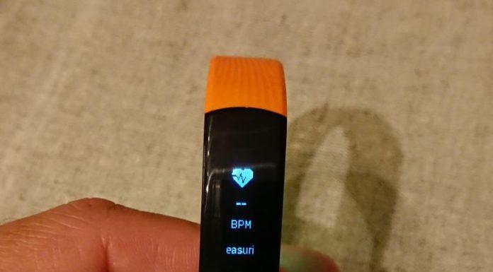 meranie srdcovej aktivitý náramkom Honor Band 3