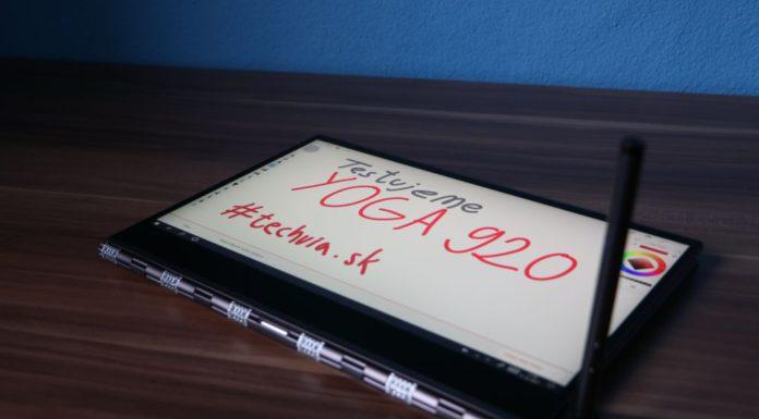 pero PEN pri notebooku Lenovo Y920