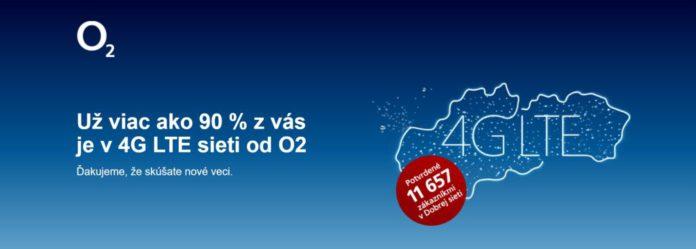 sieť O2 4G LTE