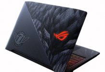 ASUS ROG herný notebook