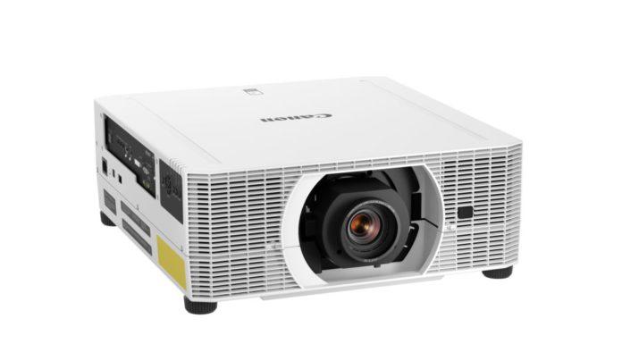 biely projektor Canon
