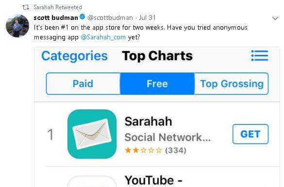 appka Sarahah