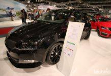 čierna Škoda Fabia Monte Carlo