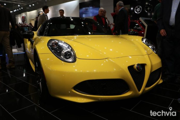pripravovaná novinka Alfa Romeo 4C Spider