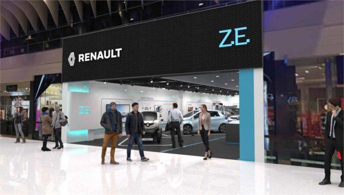 Concept store dédié au Véhicule Electrique en Europe