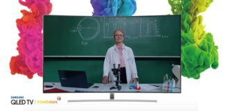 Samsung SeeColors App for QLED TV