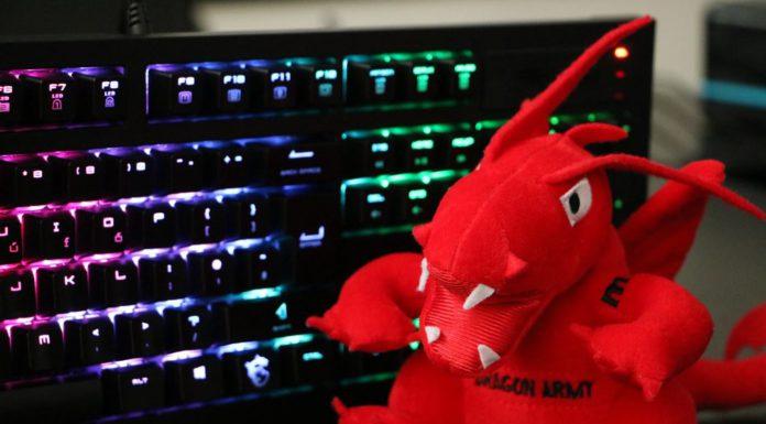 klávesnica MSI GK-701 RGB