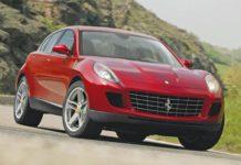pripravovná novinka Ferrari SUV