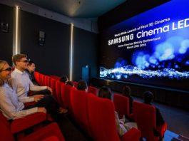 kino Samsung 3D Cinema LED