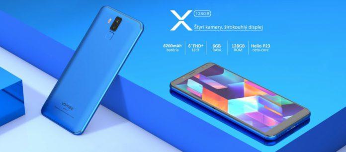 smartfón VerneeX
