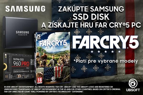 počítačová hra Samsung FAR CRY5