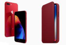 novinka smartfón iphone 8 red