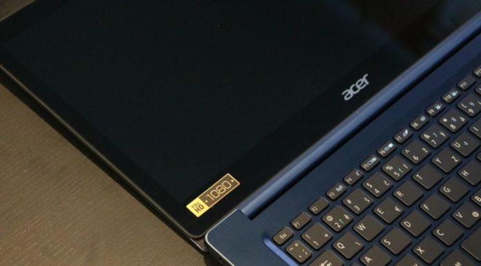 recenzia notebook ACER swift 3 ultrabook
