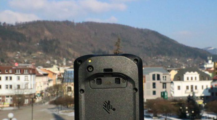 recenzia smartfón ZEBRA TC25