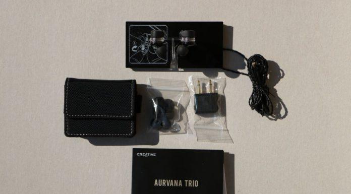 Slúchadlá Creative Aurvana Trio