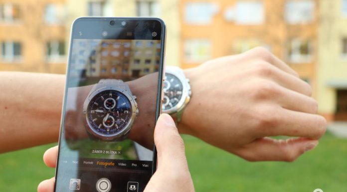 smartfón Huawei P20