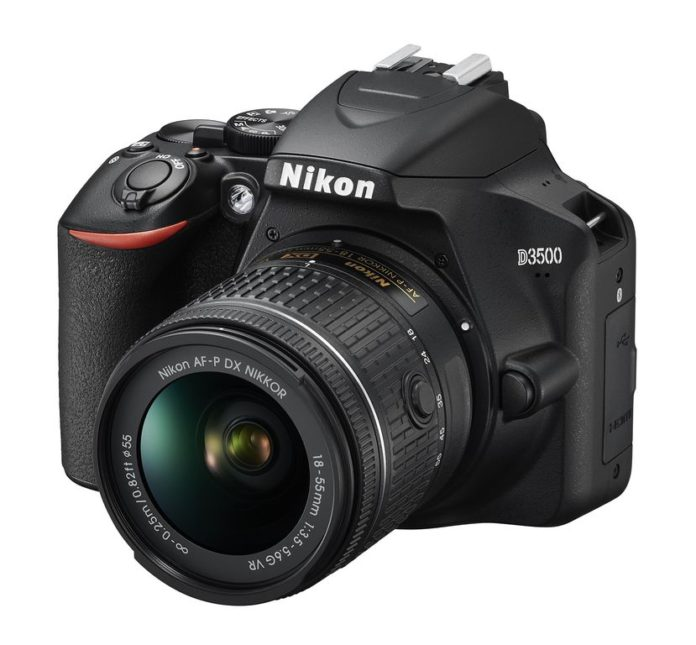 NIKON D3500_AFP_18_55_VR_front34l