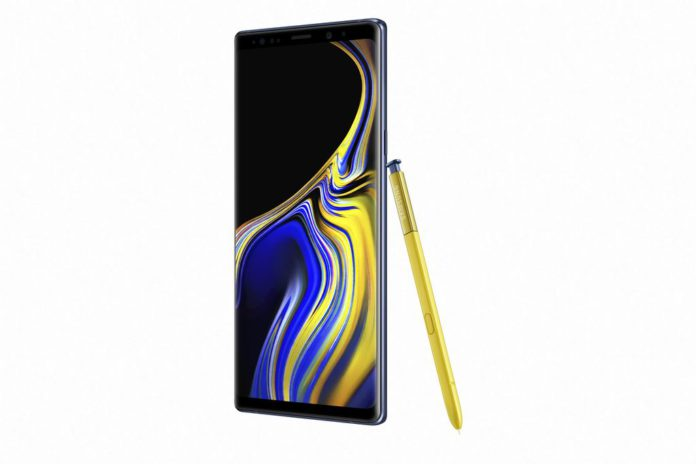Samsung Galaxy Note9_Ocean Blue_