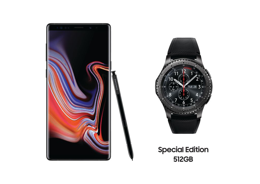 Specialna edicia Galaxy Note9 512GB_Gear S3