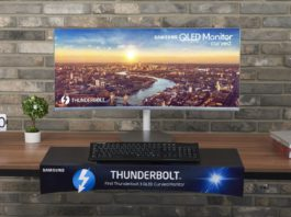Samsung Thunderbolt™ 3 QLED Curved Monitor