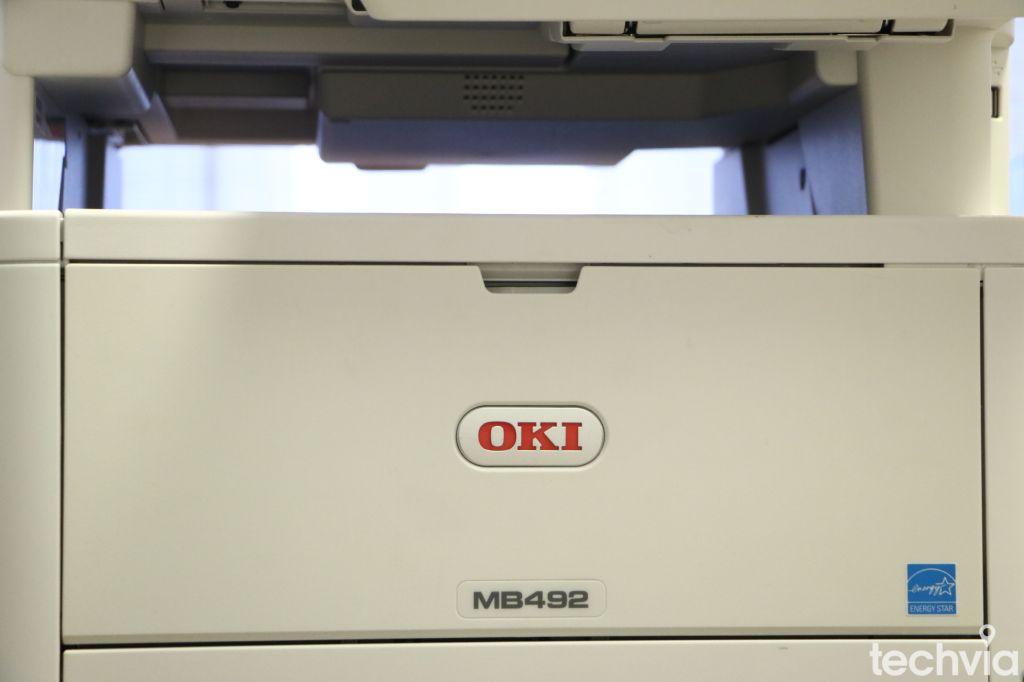 recenzia LED Tlačiareň OKI MB492