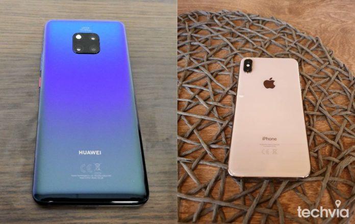 Huawei Mate 20 Pro - iPhone XS