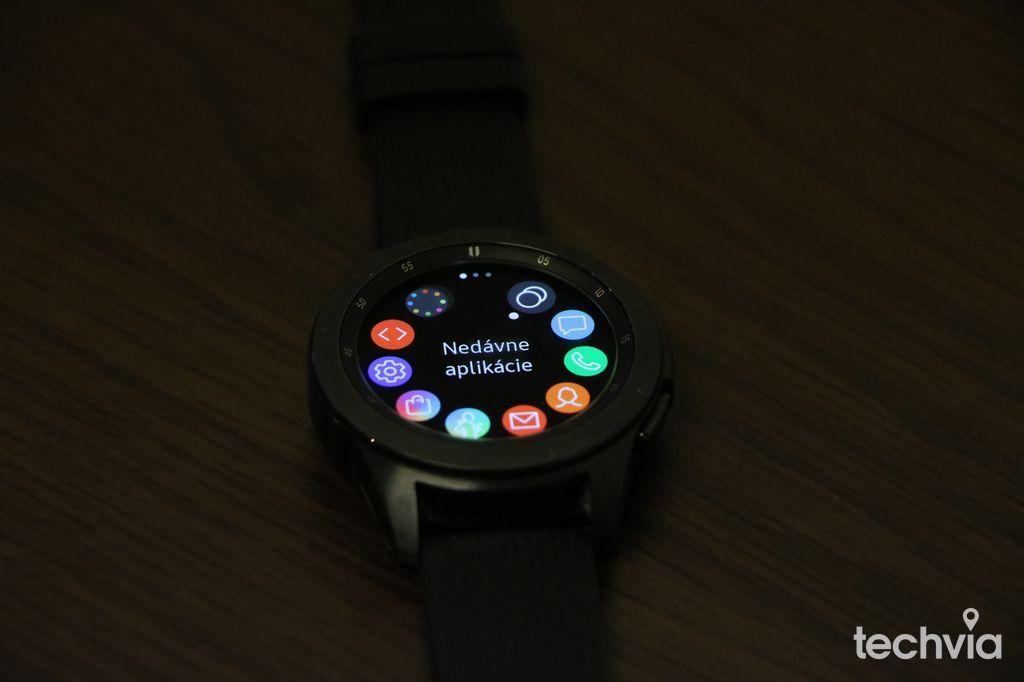 ef1bec266 Recenzia : Samsung Galaxy Watch 42 mm - Smart hodinky na vysokej ...
