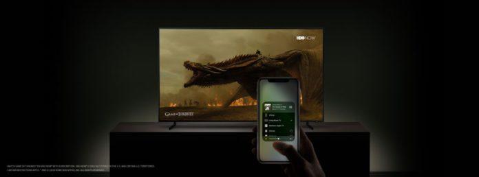 Samsung TV Airplay