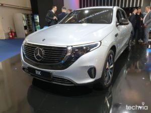 elektromobil EQC