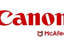 CANON McAFEE