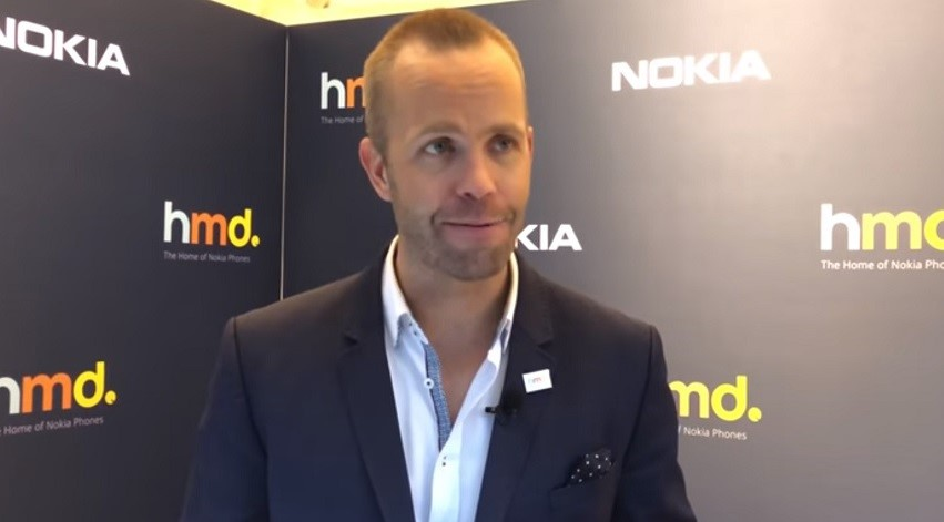 Juho Sarvikas, Chief Product Officer, HMD Global
