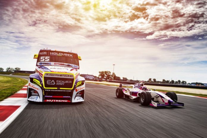 okruh SLOVAKIA RING podujatie OMV MaxxMotion Truck Race of Slovakia