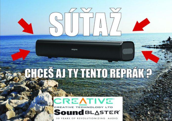 súťaž Soundbar CREATIVE STAGE AIR