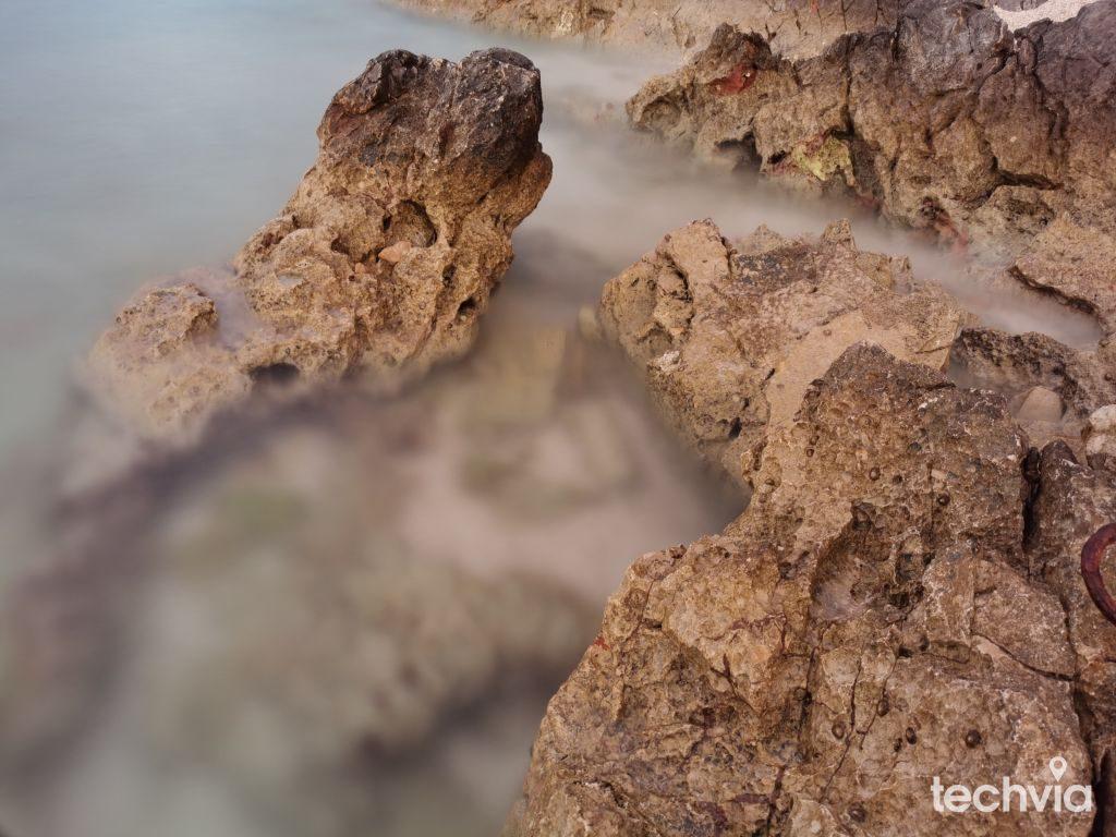 použitý špeciálny efekt hodvábna voda