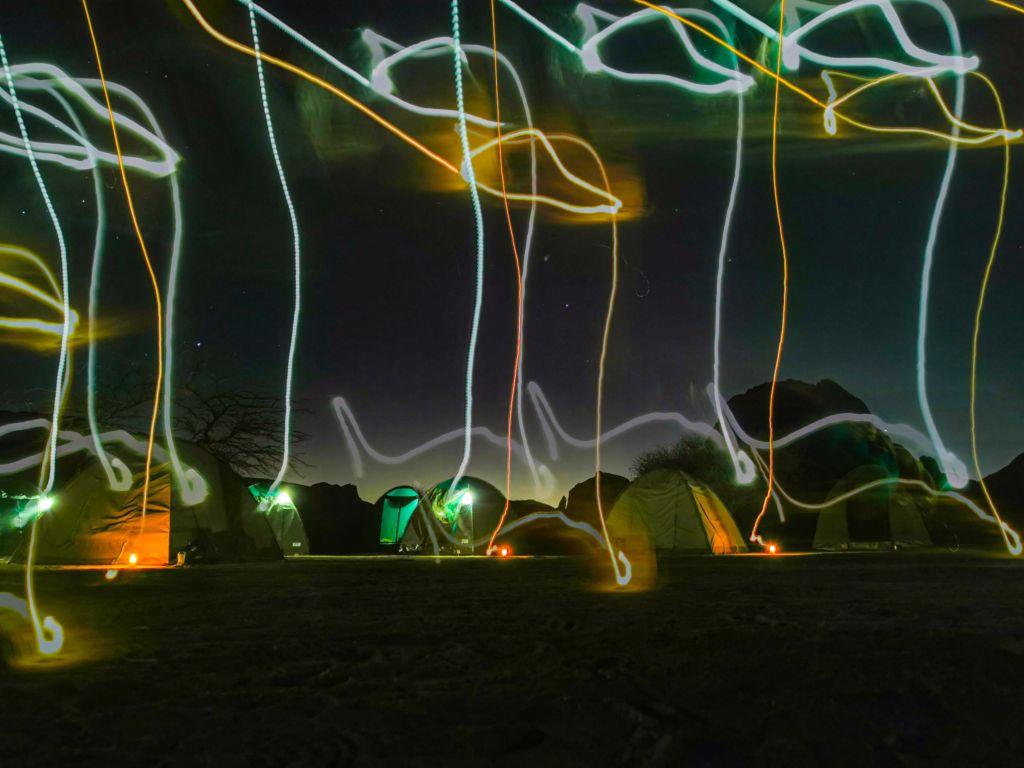 funkcia svetelné grafiti