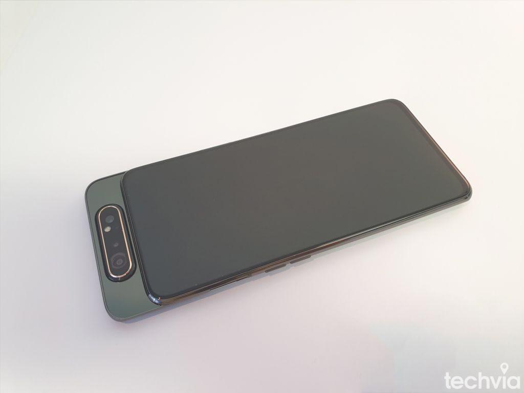 fotoaparát telefónu Galaxy A80