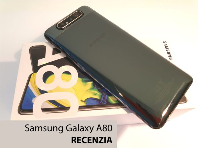 telefón SAMSUNG Galaxy A80
