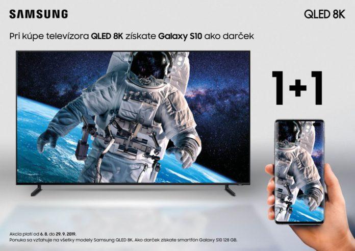 TV QLED 8K + Samsung Galaxy S10