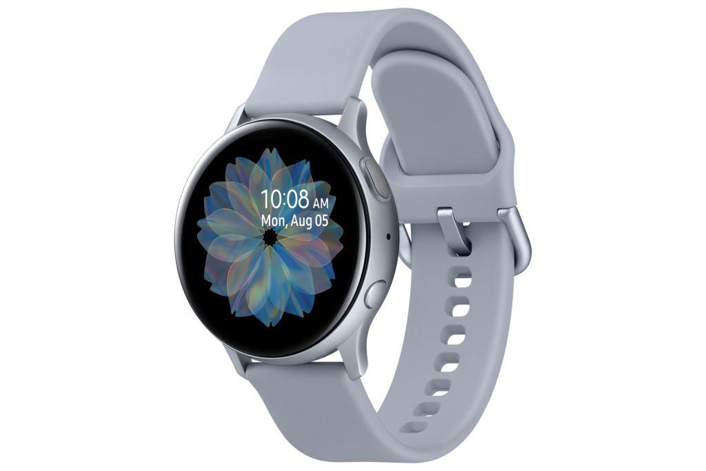 Cloud Silver Samsung Galaxy Watch Active2