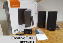 recenzia reproduktory Creative T100
