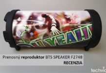 Prenosný reproduktor BTS SPEAKER F2748