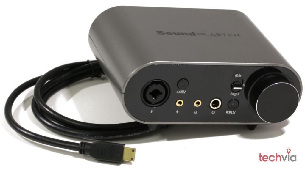 Zvuková karta Sound Blaster AE-9