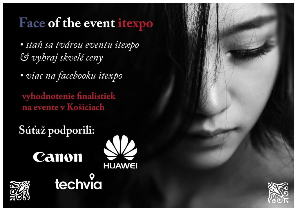 Face of the event itexpo Kosice