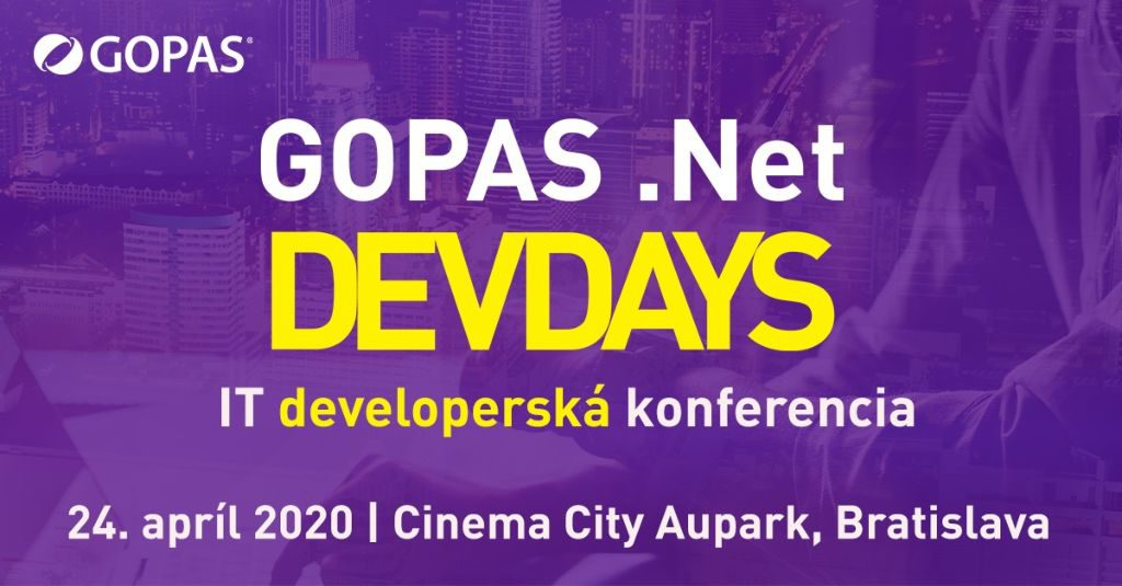 Gopas Net DevDays 2020