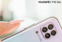 fotoaparát telefónu HUAWEI P40Lite