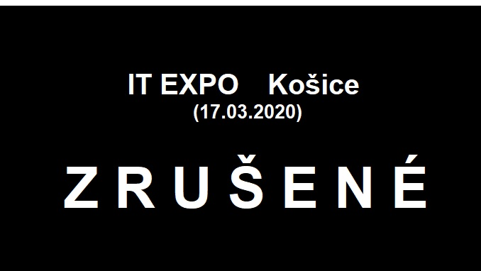 event ITEXPO Košice zrušené
