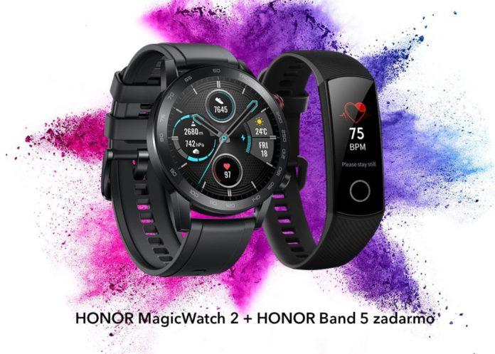 Smart hodinky HONOR MagicWatch 2 & fitness náramok HONOR Band 5